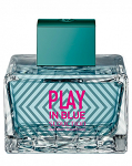 Туалетная вода Antonio Banderas Play in Blue Seduction For Women edt 100ml